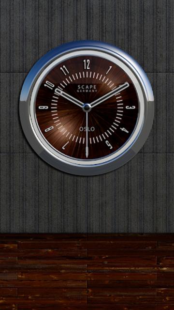 OSLO Analog Clock Widget screenshot 3