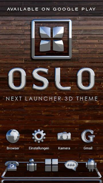 OSLO Analog Clock Widget screenshot 8