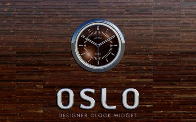 OSLO Analog Clock Widget screenshot 9