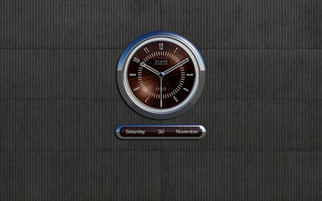 OSLO Analog Clock Widget screenshot 10