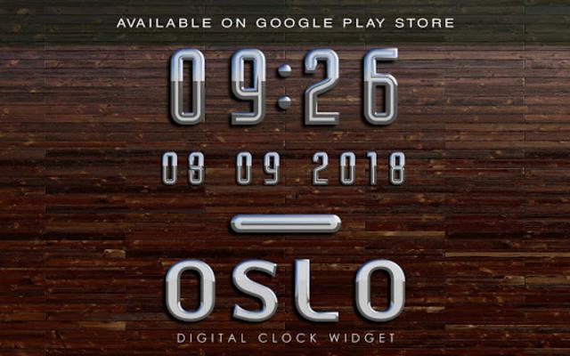 OSLO Analog Clock Widget screenshot 13