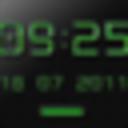 Icon for NEON GREEN Digi Clock Widget