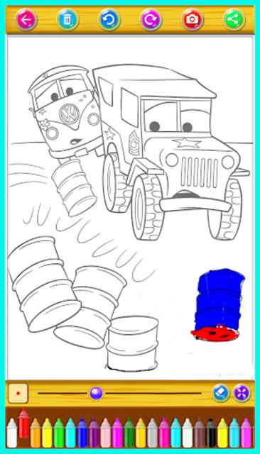 McQueen Coloring Book screenshot 4