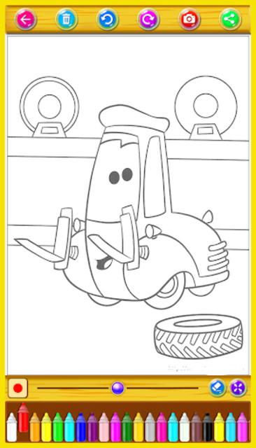 McQueen Coloring Book screenshot 6