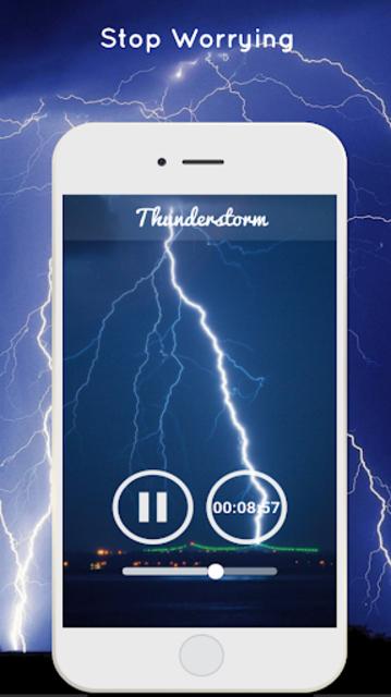 Thunderstorm Sound - Relaxing screenshot 2
