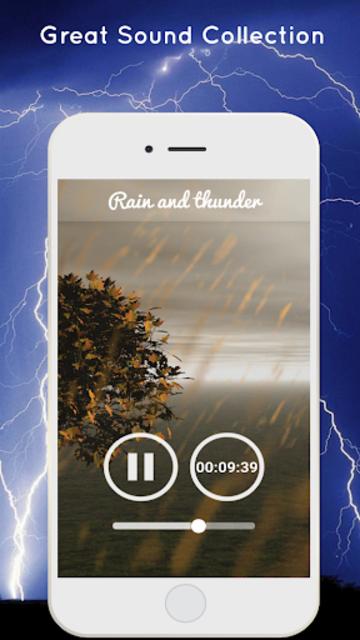 Thunderstorm Sound - Relaxing screenshot 3