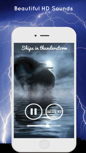 Thunderstorm Sound - Relaxing screenshot 4