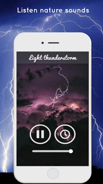 Thunderstorm Sound - Relaxing screenshot 5