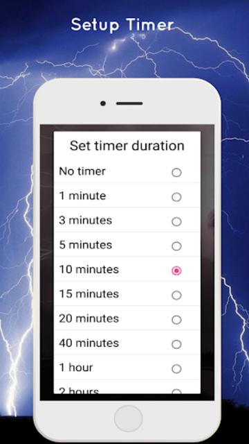 Thunderstorm Sound - Relaxing screenshot 6