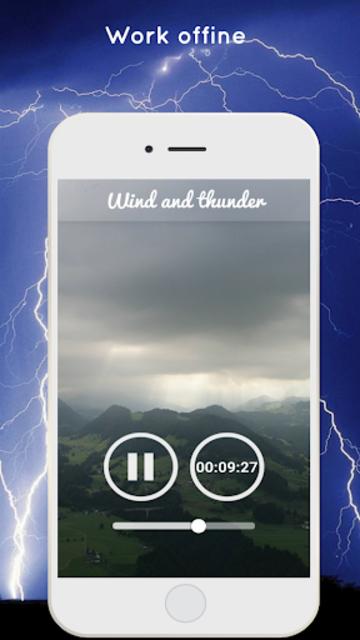 Thunderstorm Sound - Relaxing screenshot 7
