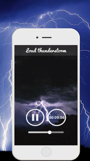 Thunderstorm Sound - Relaxing screenshot 8