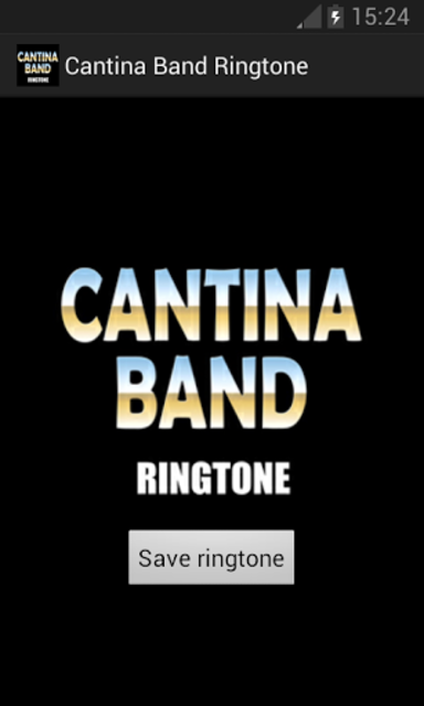 Cantina Band Ringtone screenshot 1