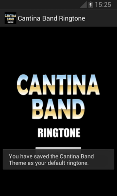 Cantina Band Ringtone screenshot 2