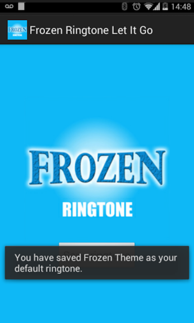 Frozen Ringtone - Let It Go screenshot 2
