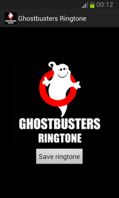 Ghostbusters Ringtone screenshot 1