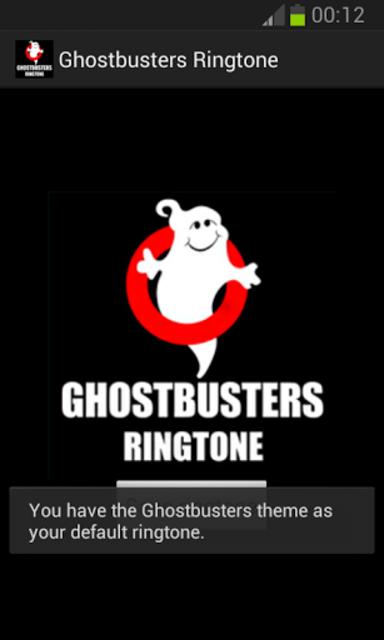 Ghostbusters Ringtone screenshot 2