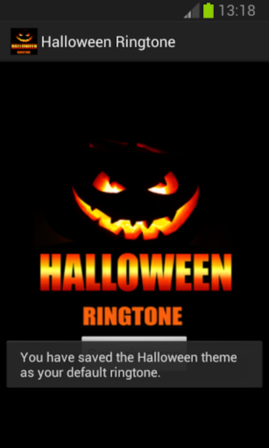 Halloween Ringtone screenshot 2
