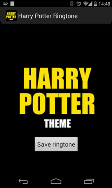 Harry Potter Ringtone screenshot 1