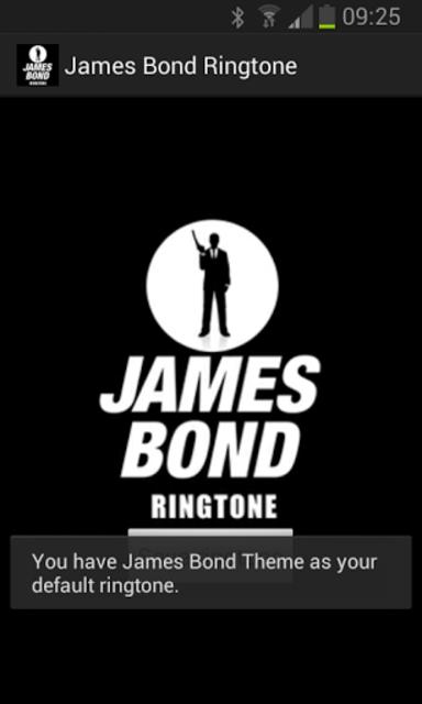 James Bond Ringtone screenshot 2