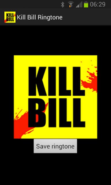 Kill Bill Ringtone screenshot 1