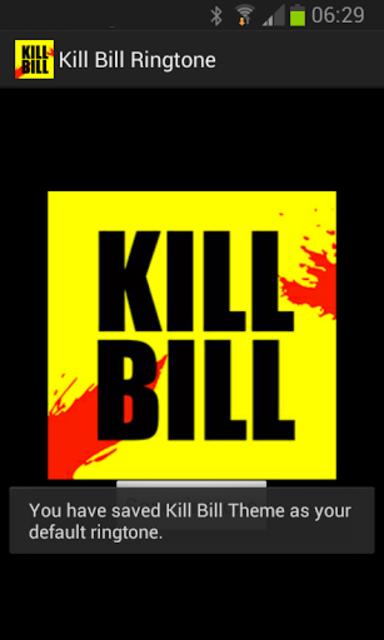 Kill Bill Ringtone screenshot 2