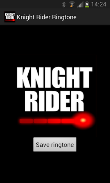 Knight Rider Ringtone screenshot 1