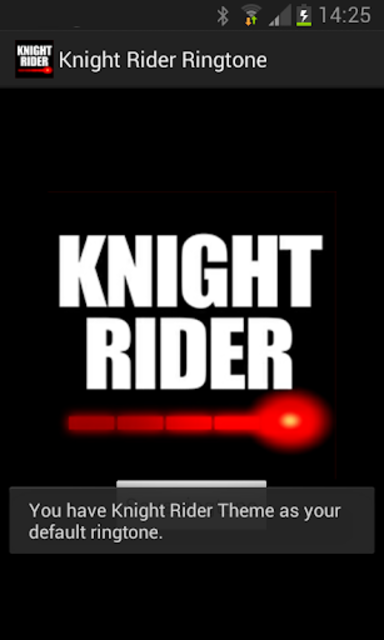 Knight Rider Ringtone screenshot 2