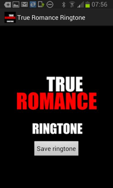 True Romance Ringtone screenshot 1