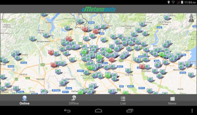 aMetanoauto screenshot 9