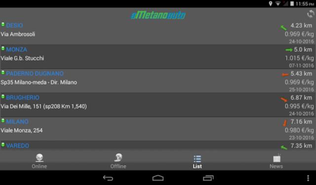 aMetanoauto screenshot 11