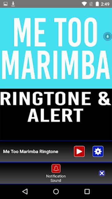 Me Too Marimba Ringtone screenshot 3