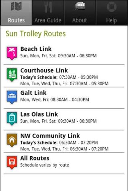 Sun Trolley Tracker screenshot 2