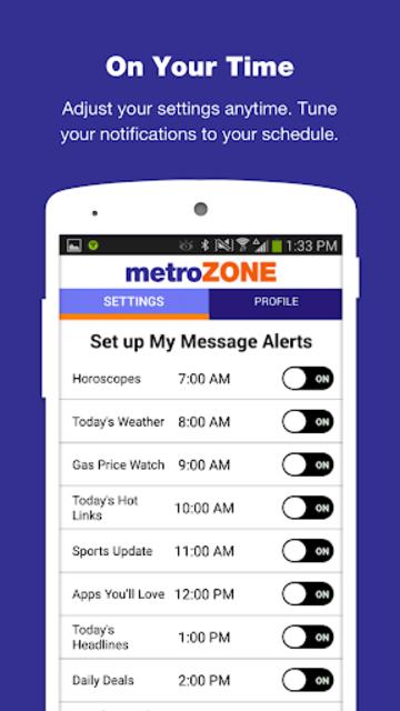 MetroZone screenshot 6