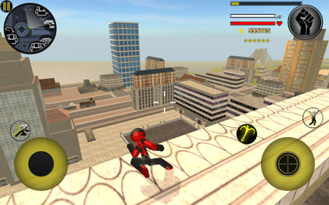 Stickman Rope Hero screenshot 21