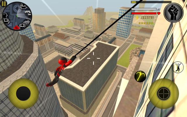 Stickman Rope Hero screenshot 9