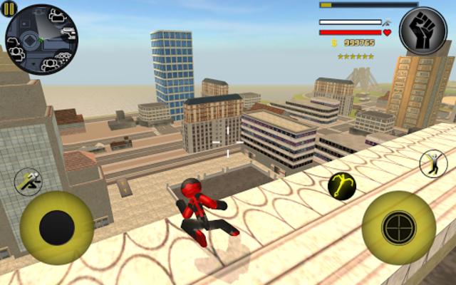 Stickman Rope Hero screenshot 10