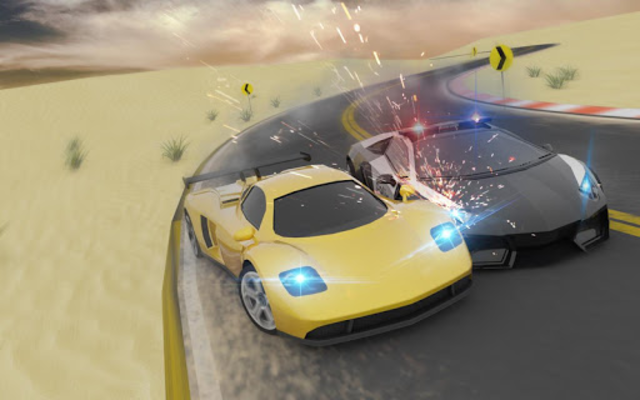Miami Police Chase: Death Race Super Car screenshot 2
