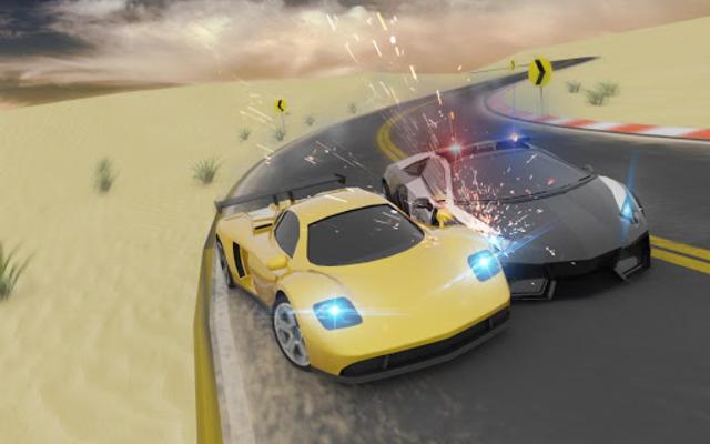 Miami Police Chase: Death Race Super Car screenshot 9