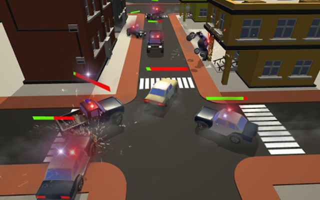 Miami Police Chase: Death Race Super Car screenshot 13