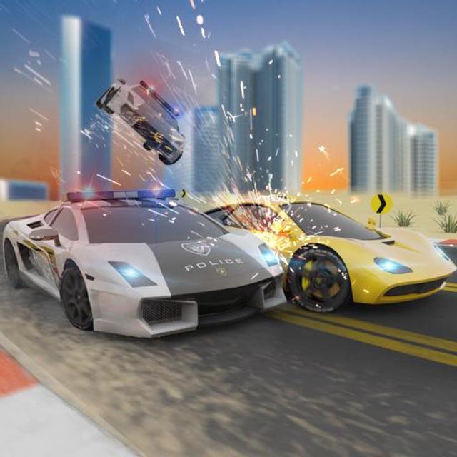 Miami Police Chase: Death Race Super Car screenshot 15