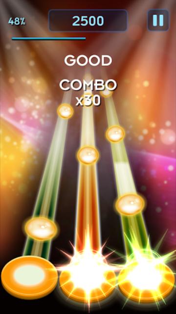 Music Heros: Rhythm game screenshot 2
