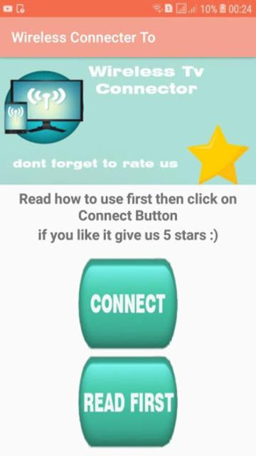 Wireless TV Connector( Screen mirroring) screenshot 1