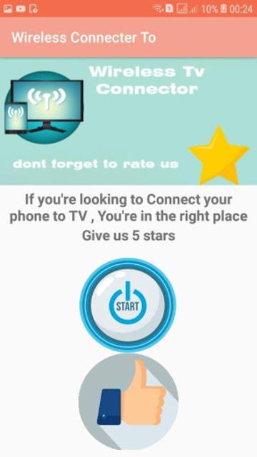 Wireless TV Connector( Screen mirroring) screenshot 2