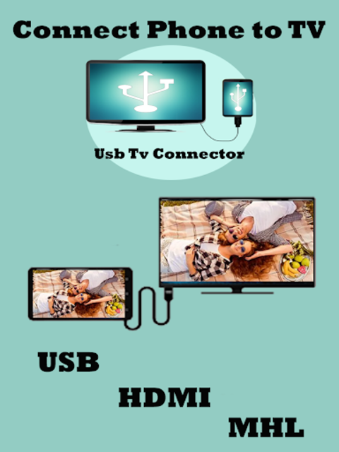 USB Connector phone to tv (hdmi/mhl/usb) screenshot 1