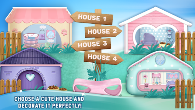 My Cute Pet House Decorating Games screenshot 2