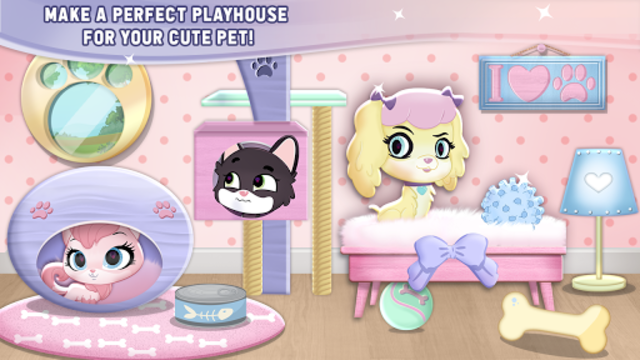 My Cute Pet House Decorating Games screenshot 3