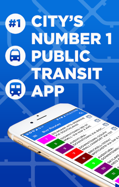 Miami Metro & Bus Tracker screenshot 1