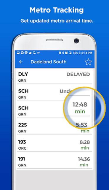 Miami Metro & Bus Tracker screenshot 2