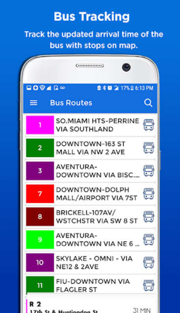 Miami Metro & Bus Tracker screenshot 3