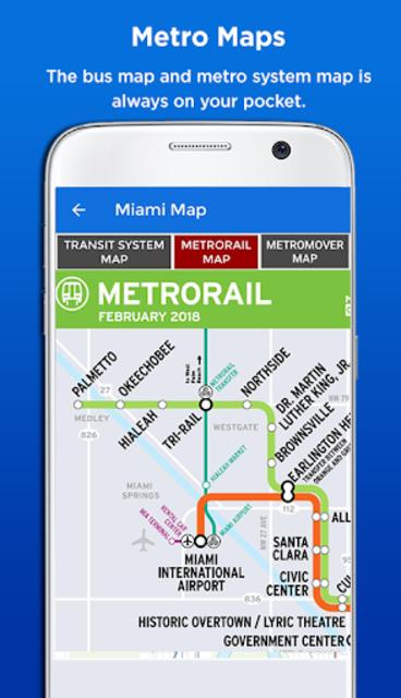 Miami Metro & Bus Tracker screenshot 6